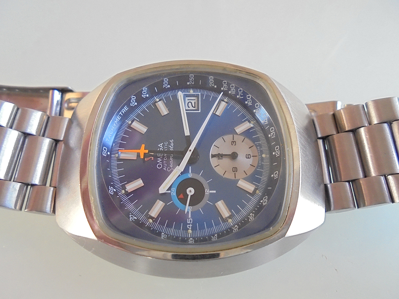 Omega Seamaster Chronograph So Called Yedi N O S Vintage Watches
